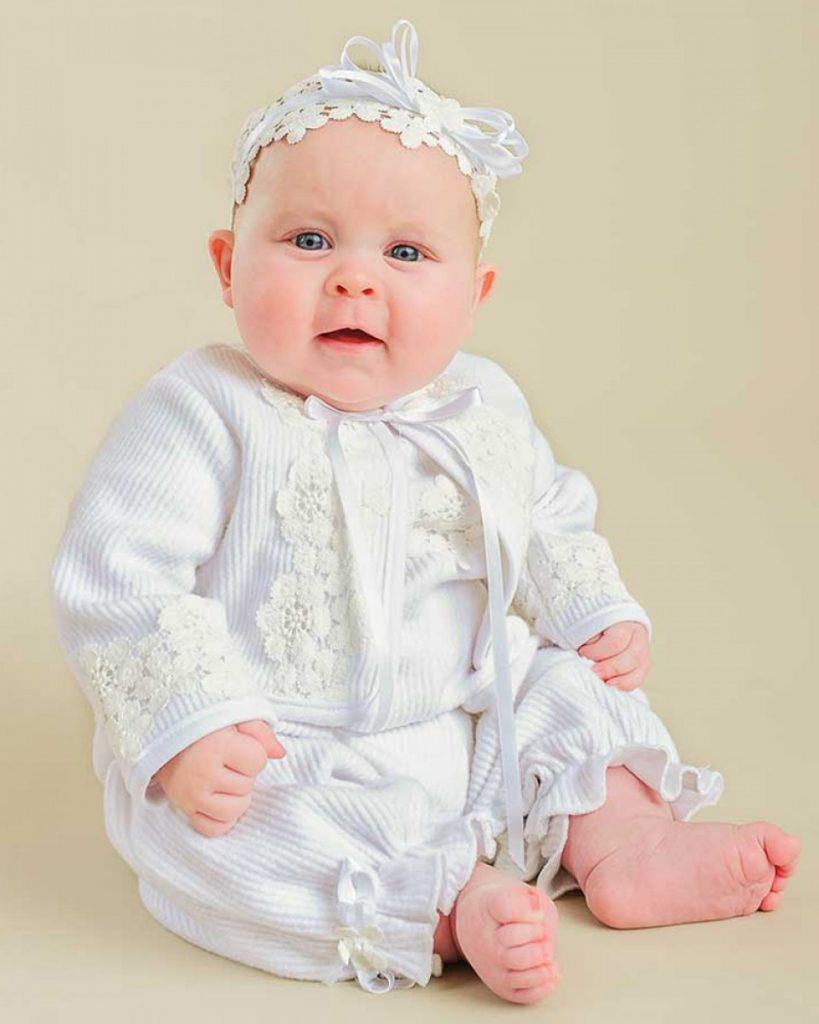 Amber After-Christening Romper