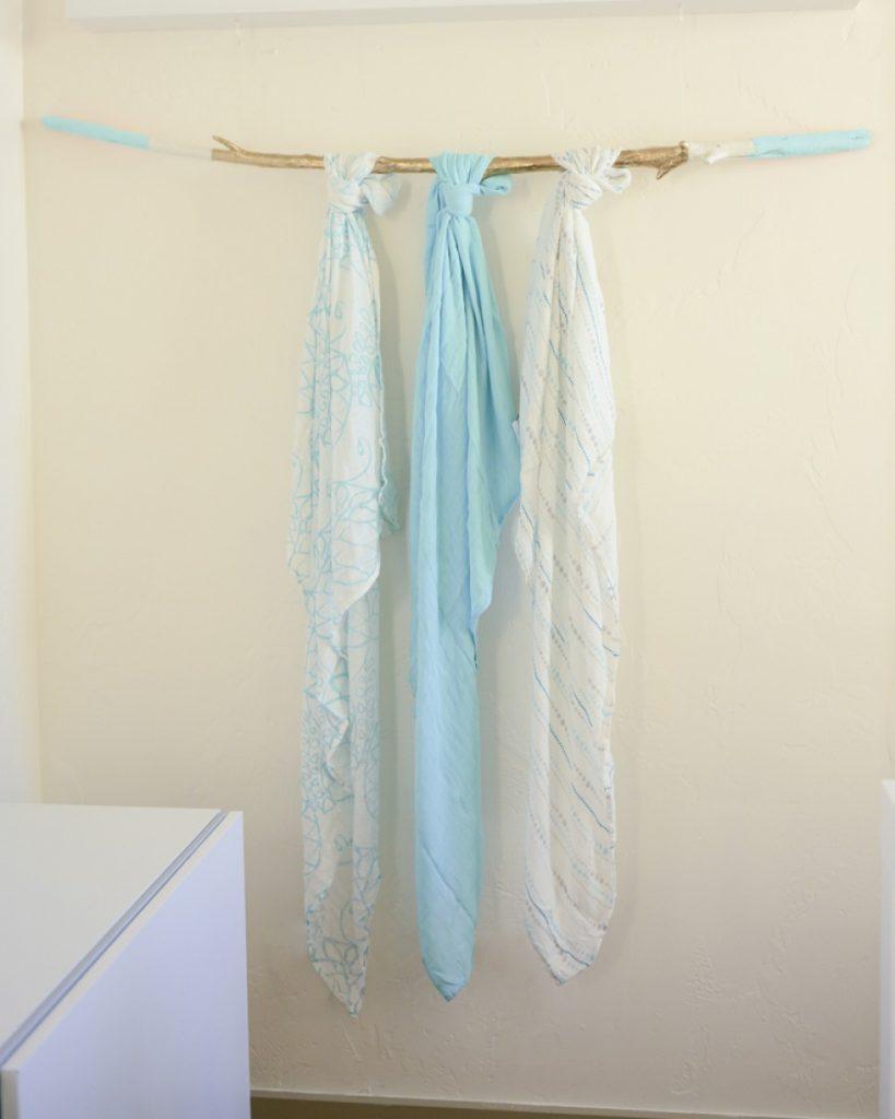 Azure Bamboo Swaddle Blankets