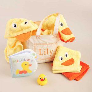 Bath Time Gift Tote