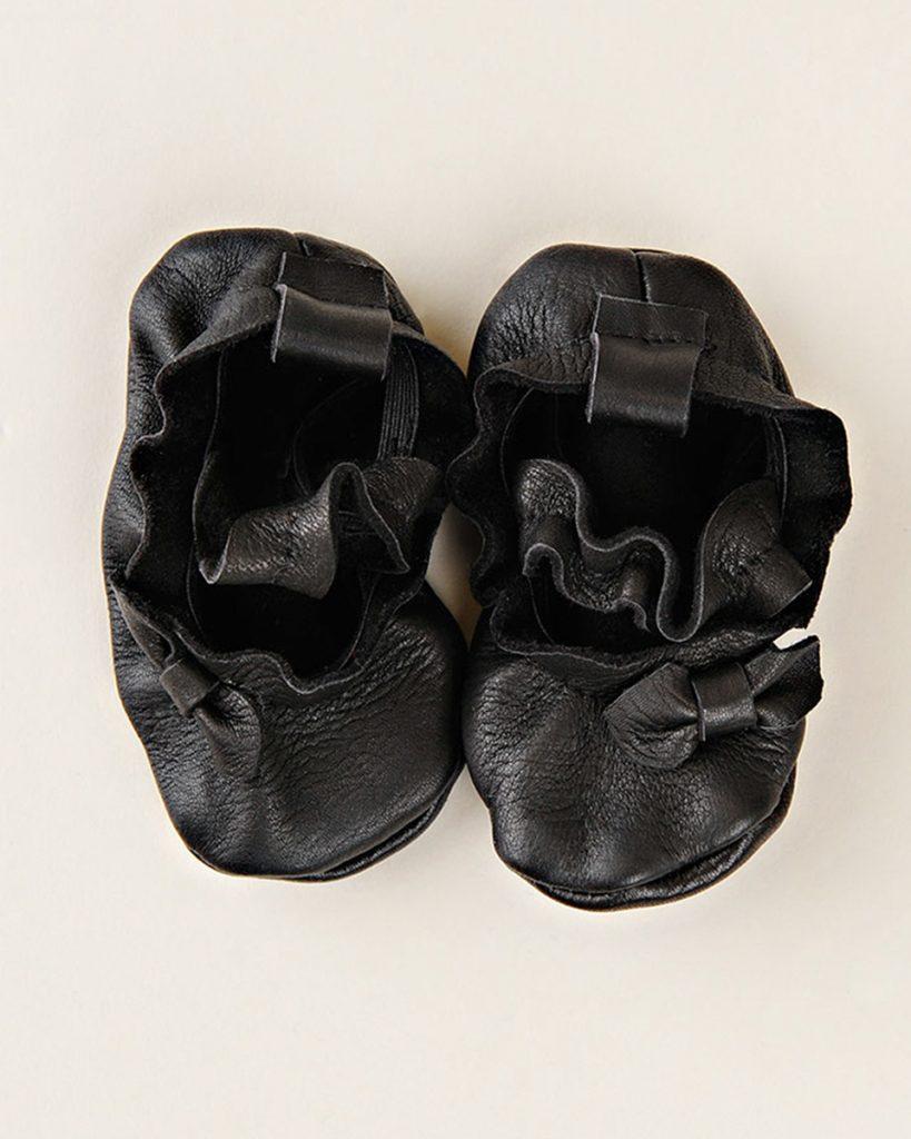 Leather Ballet Moccasins
