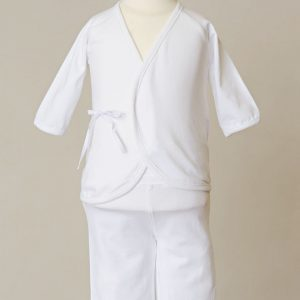 Girls Four-Piece Bamboo Layette Set - One Small Child