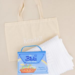 My Bible Book and Blanket Gift Tote