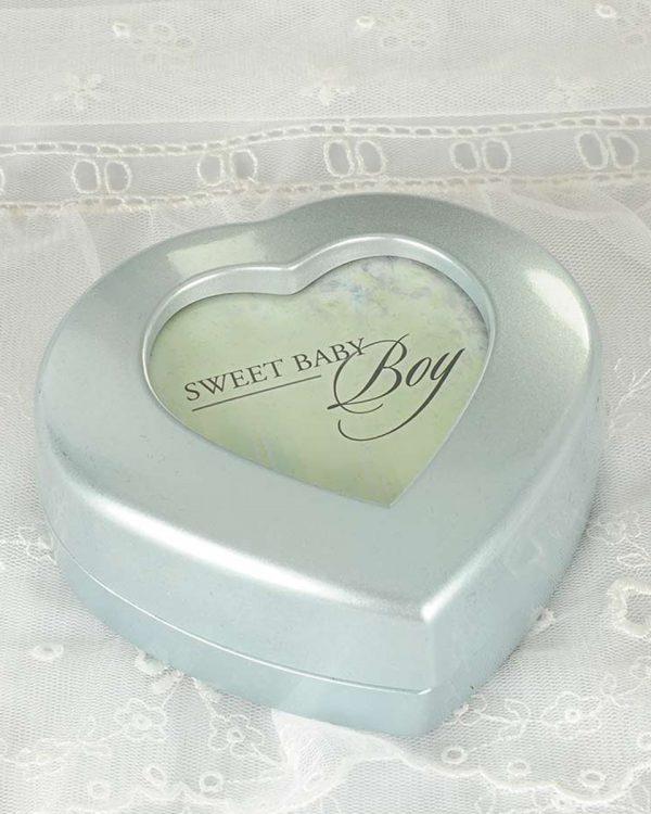 Blue Heart Music Box