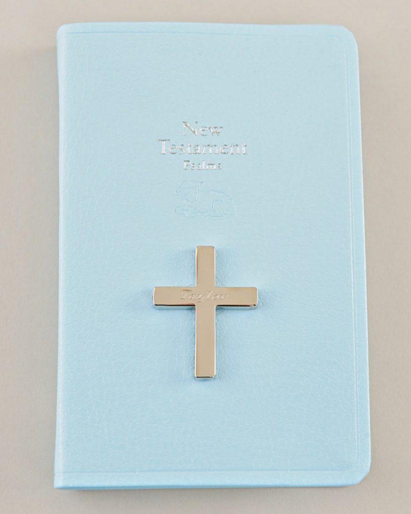 Blue Mini New Testament