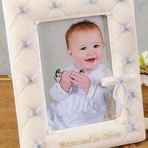 Boy Baptism Frame