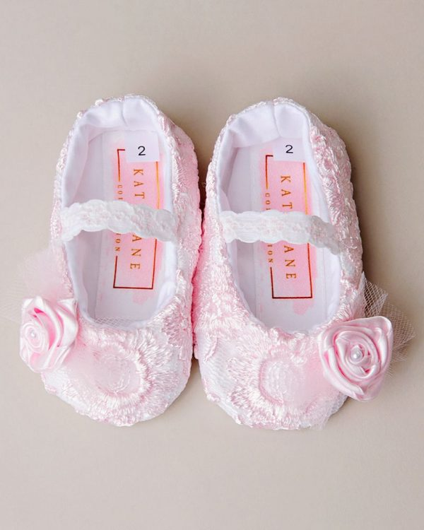 Caryssa Lace Slippers