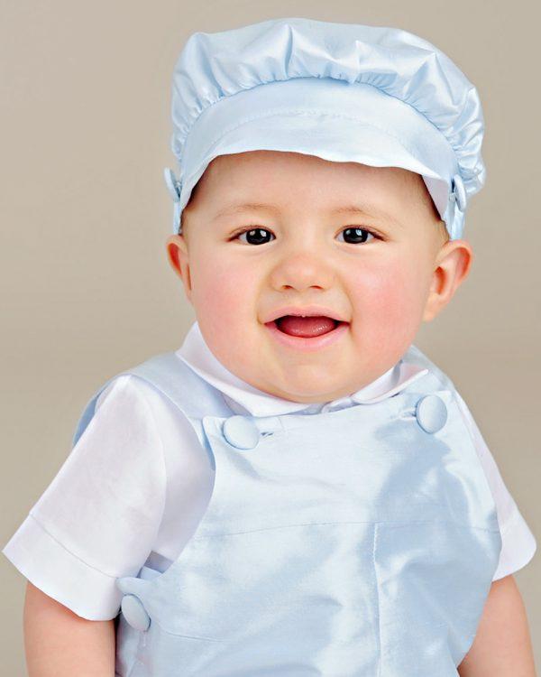 Elijah Blue Christening Outfit