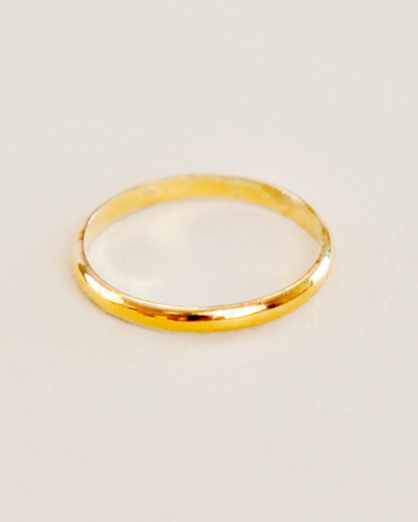 10kt Gold Baby Ring