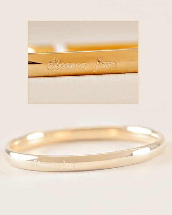 Gold Filled Bangle Bracelet