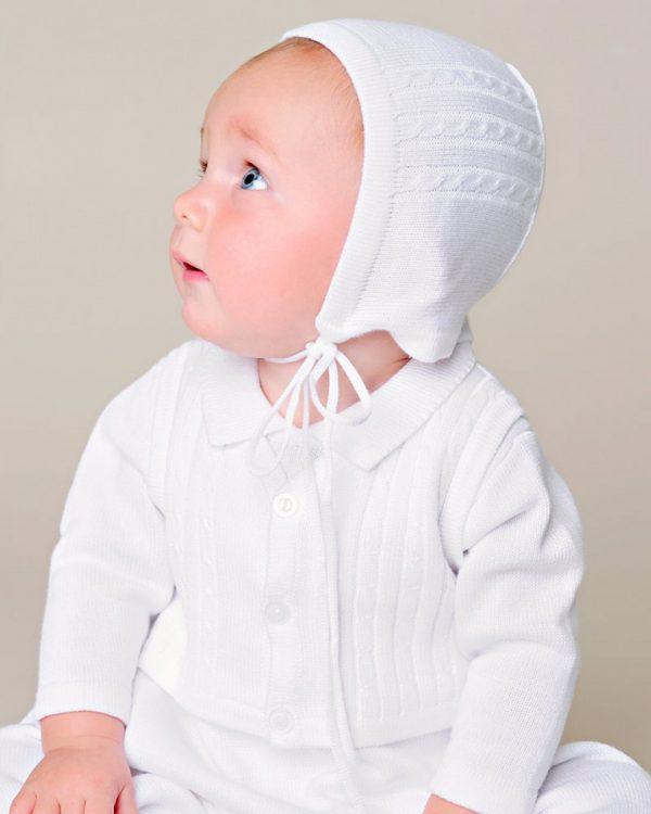Jeffrey Christening Knit Outfit