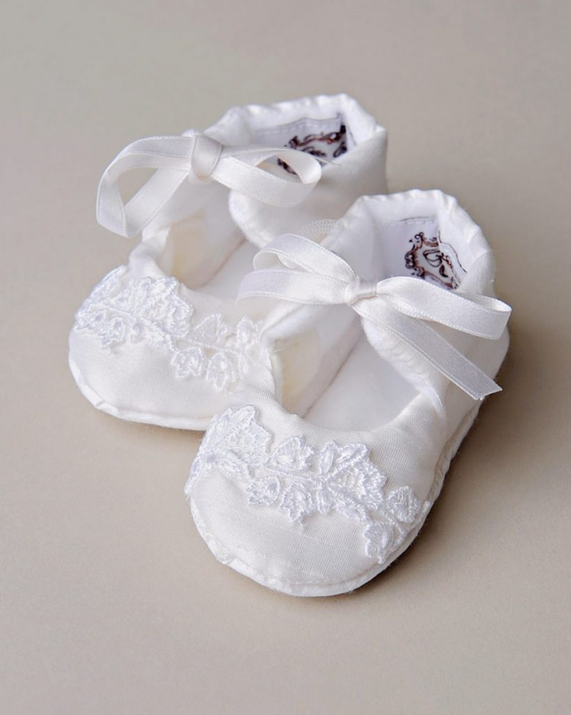 Kennedy Christening Slippers