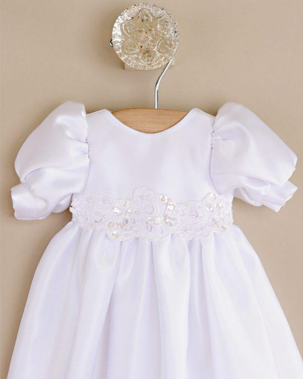 Little Olivia Preemie Satin Dress
