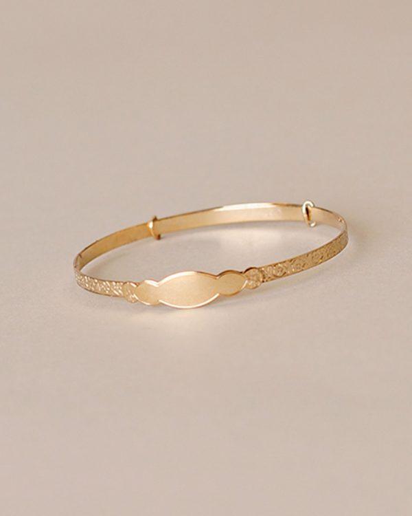 London Gold Baby Bracelet