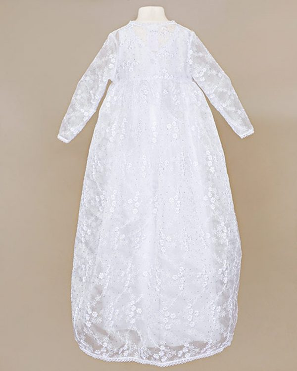 Mila Lace Christening Jacket