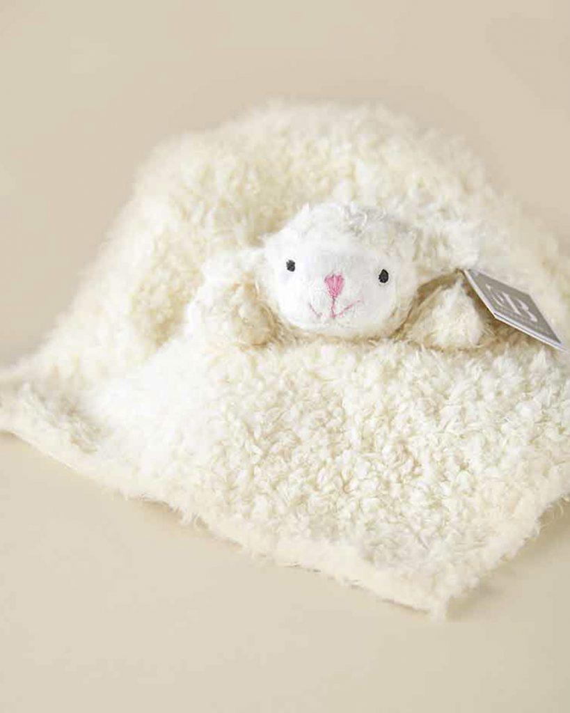 Mini Lamb Cuddle Blankie
