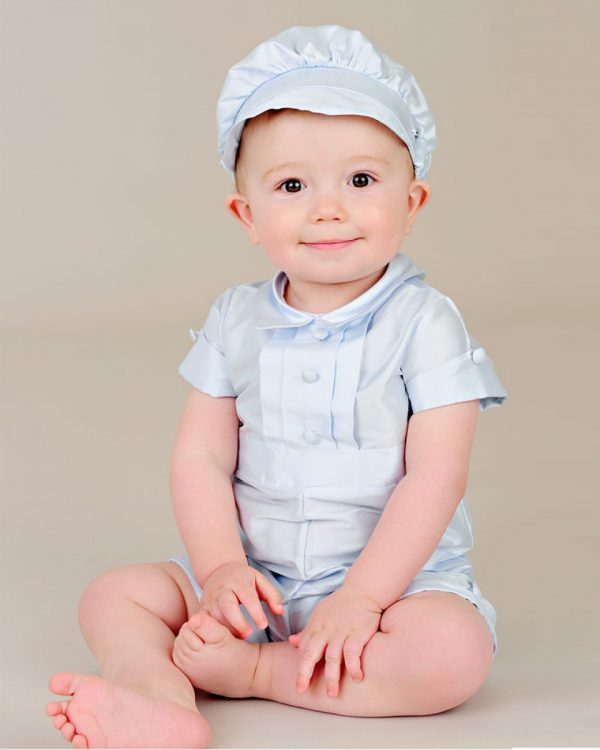 Noah Blue Christening Outfit