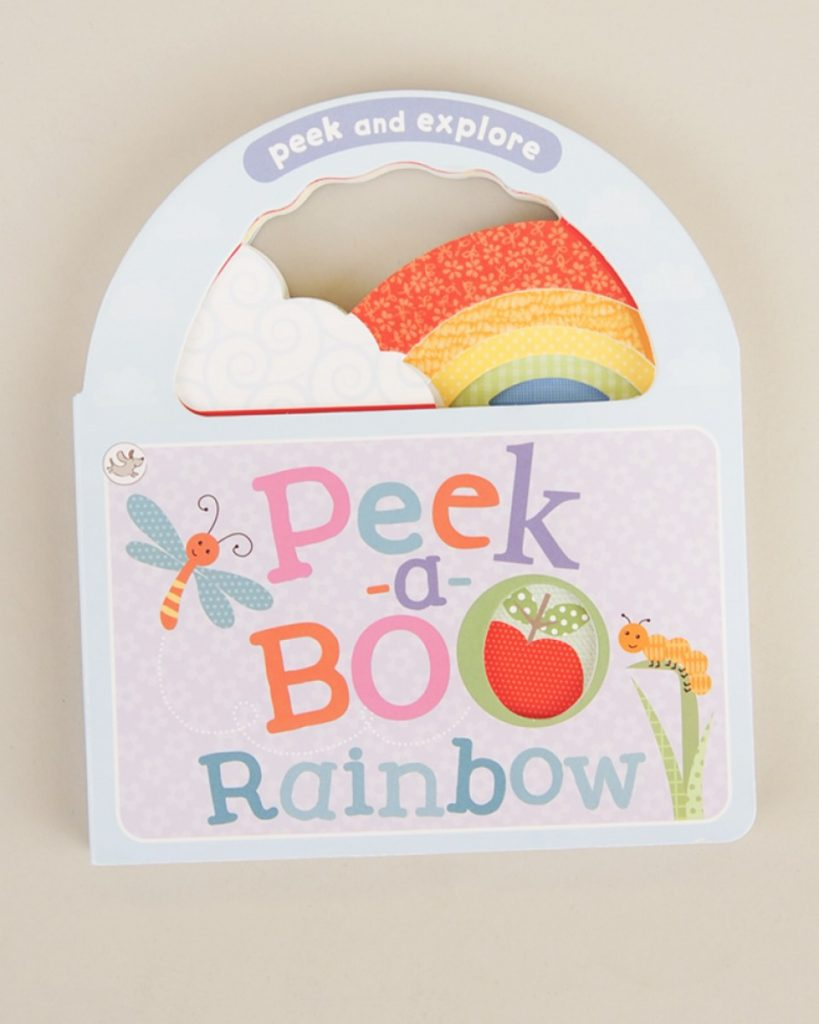 Peek A Boo Rainbow Board Book