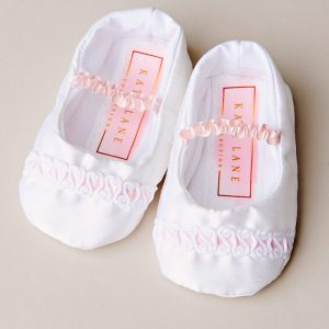 Phoebe Christening Shoes - One Small Child