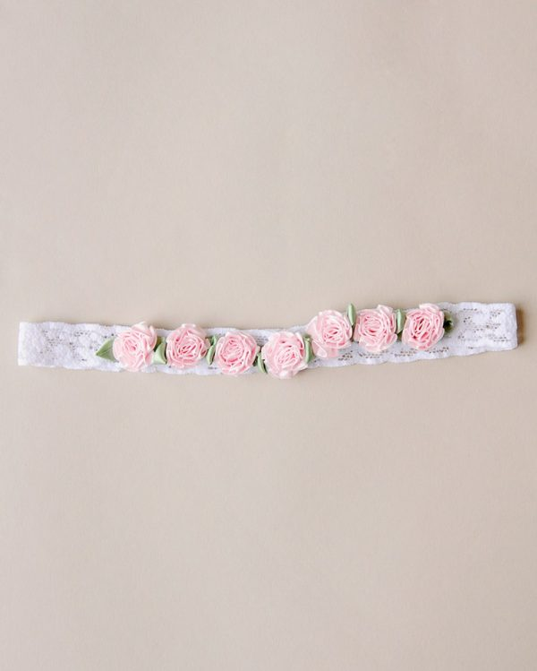 Pink Carnation Headband