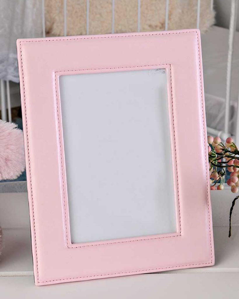 Pink Leather Frame
