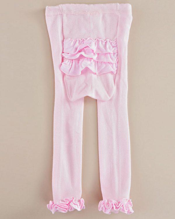 Rhumba Ruffle Pink Capri