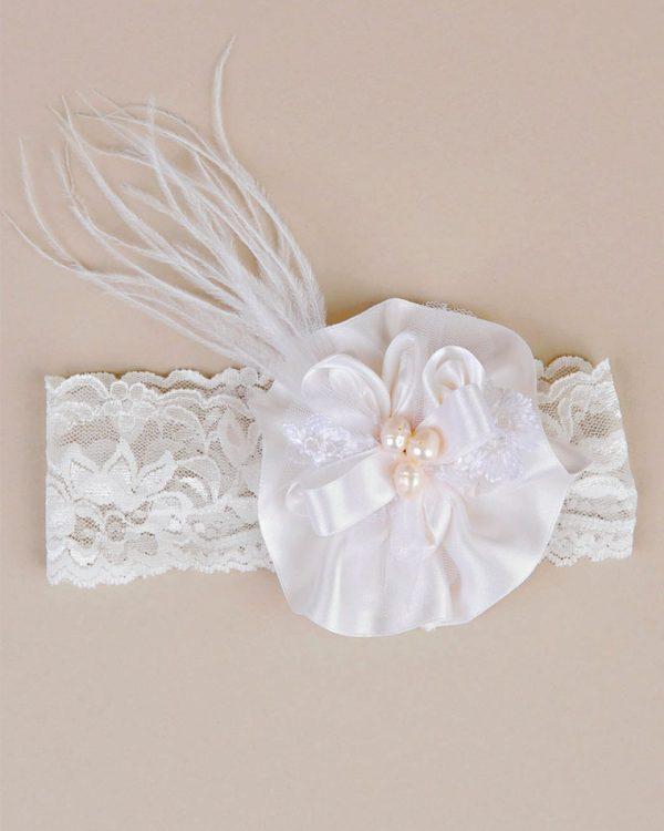 Preslee Silk Rosette Headband