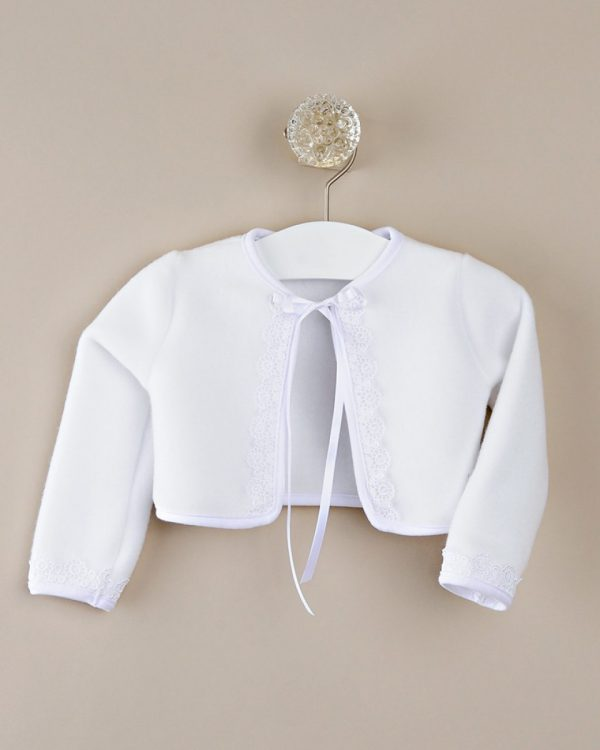 Quinn Fleece Christening Jacket