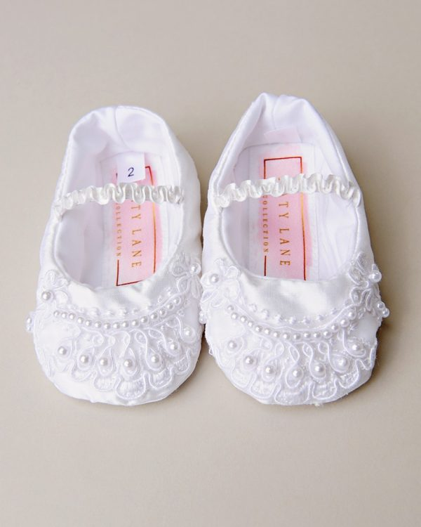 Beaded Crochet Slippers