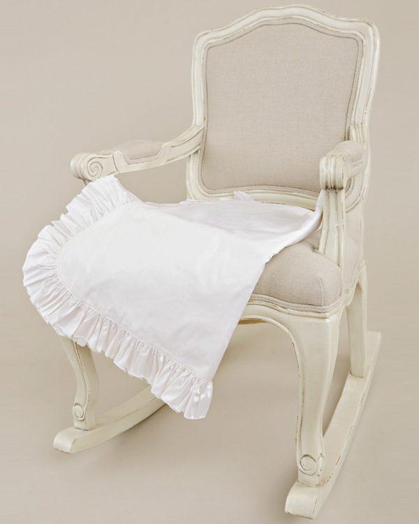 Silk Ruffle Blanket