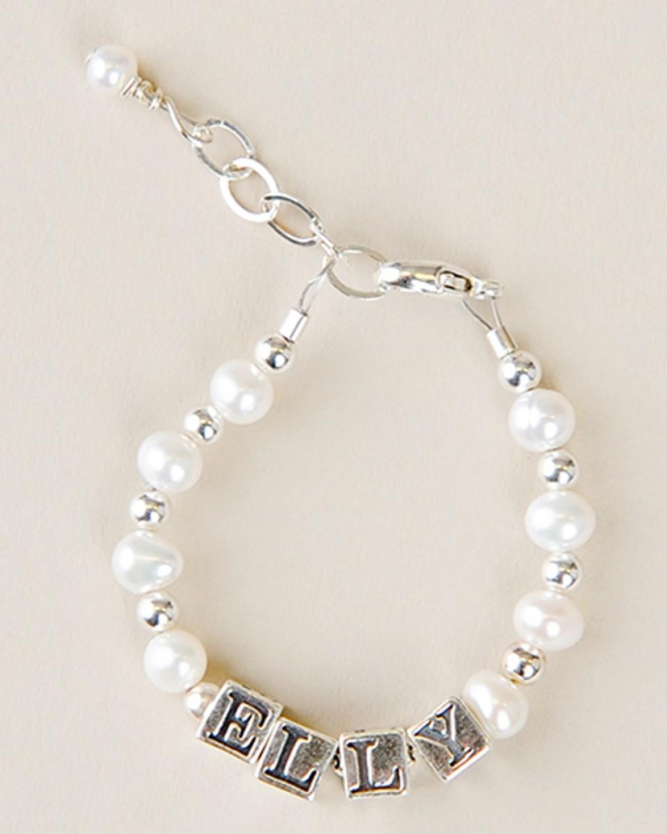 Bracelet Pearl name