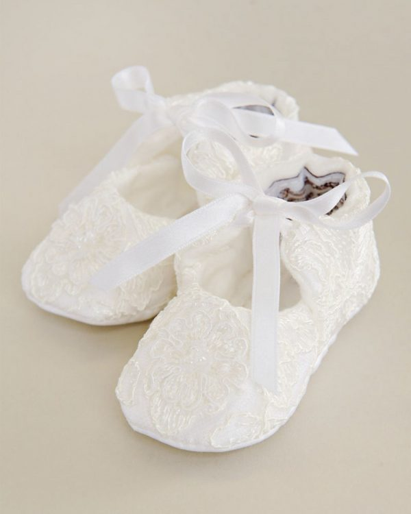 Sophi Christening Slippers - One Small Child