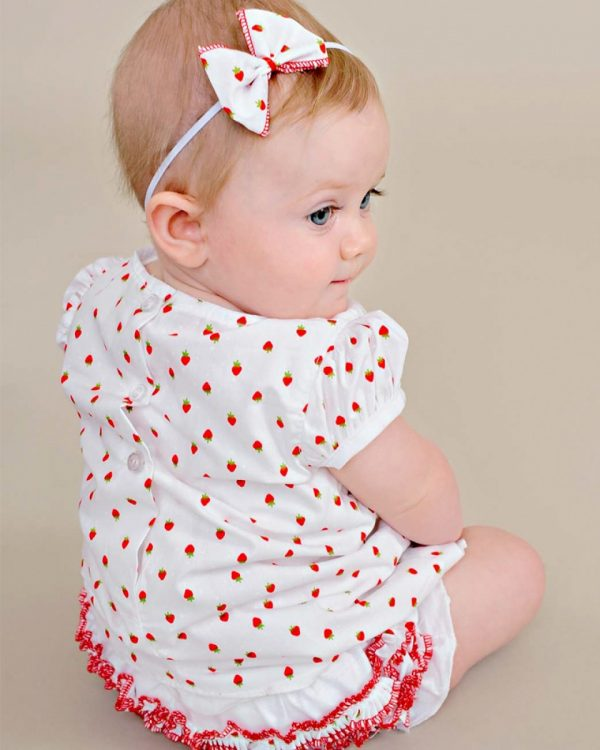 Strawberry Summer Dress