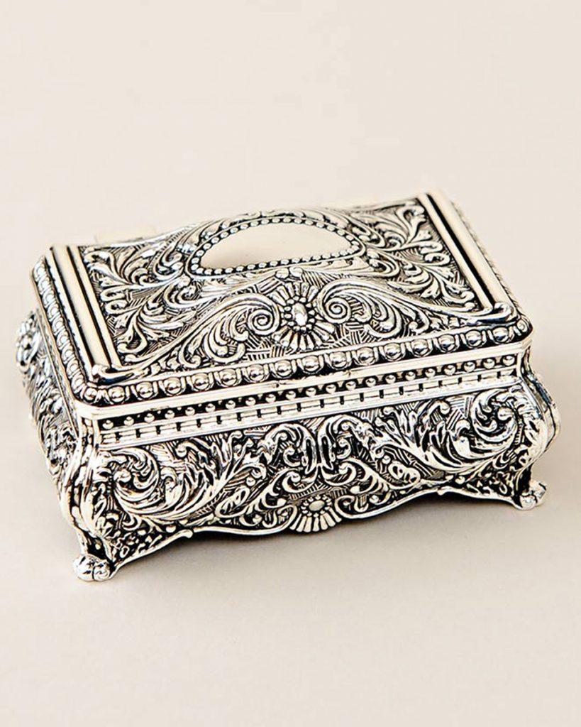 Small Ornate Jewelry Box