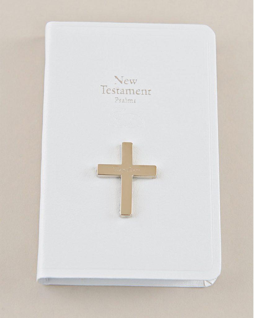 White Mini New Testament