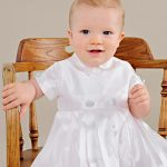 William Silk Boys Christeing Covert Gown - One Small Child