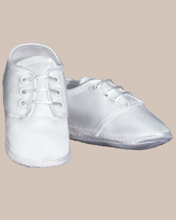 Baby Boys Satin Oxford Shoe