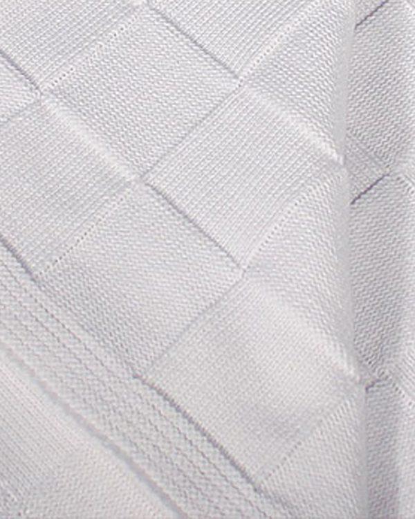 Cotton Shawl with Checker Pattern