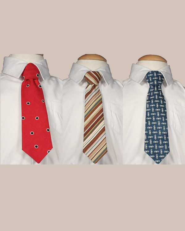 "Boys 8"" Cotton Special Occasion Ties"