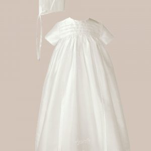 "Silk 26"" Family Christening Baptism Gown"