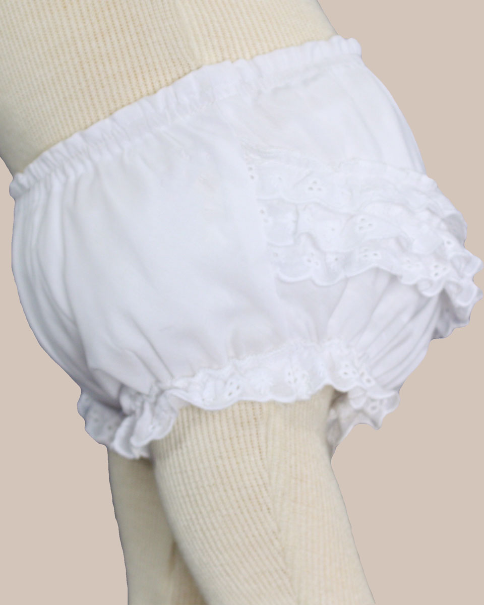 BABY BLOOMERS or Diaper Cover; Monogrammed Bloomers; White monogrammed bloomers; Girls bloomers; Girls Monogrammed bloomers; Infant bloomers