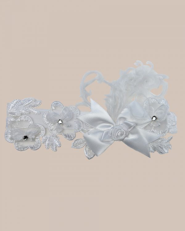 Feather Flower Headband - One Small Child