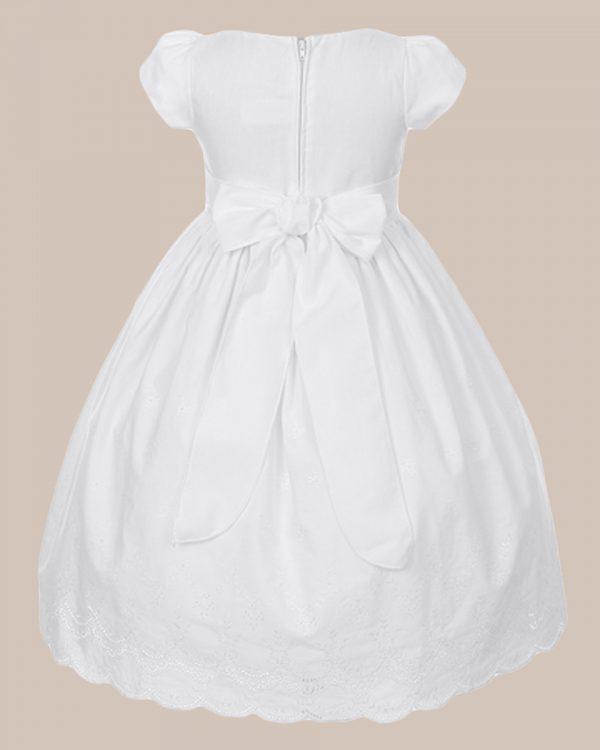 KD-318 Flower Girl Dress White - One Small Child