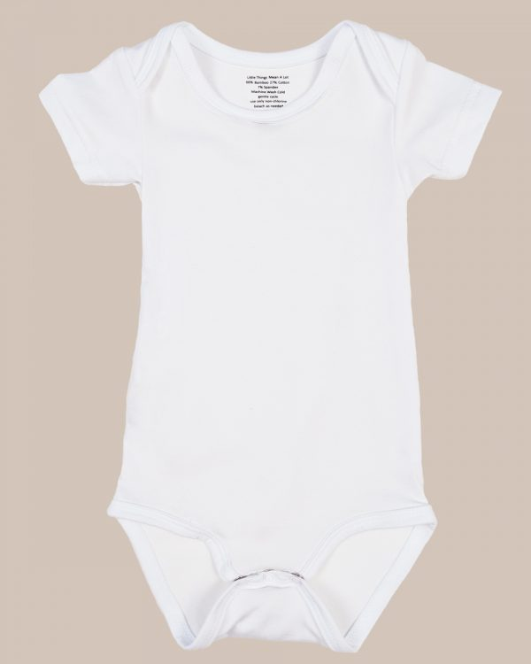 Bamboo Short Sleeve Bodysuit - One Small Child