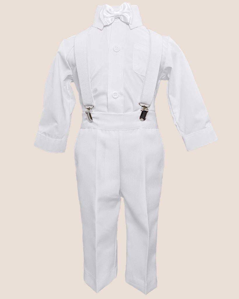 Cooper Suspender Christening Outfit - One Small Child